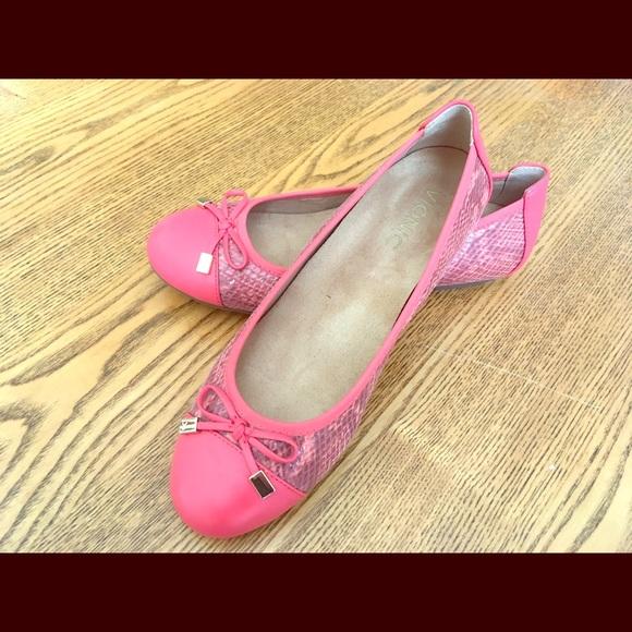 fd66086f1f12d Vionic Minna Ballet Flat in Coral